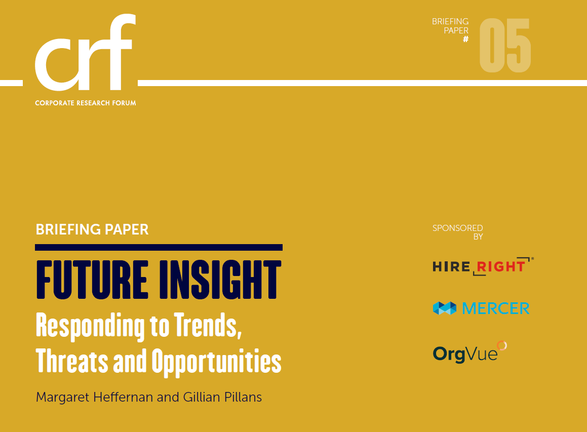 Cover of the Future Insight CRF report