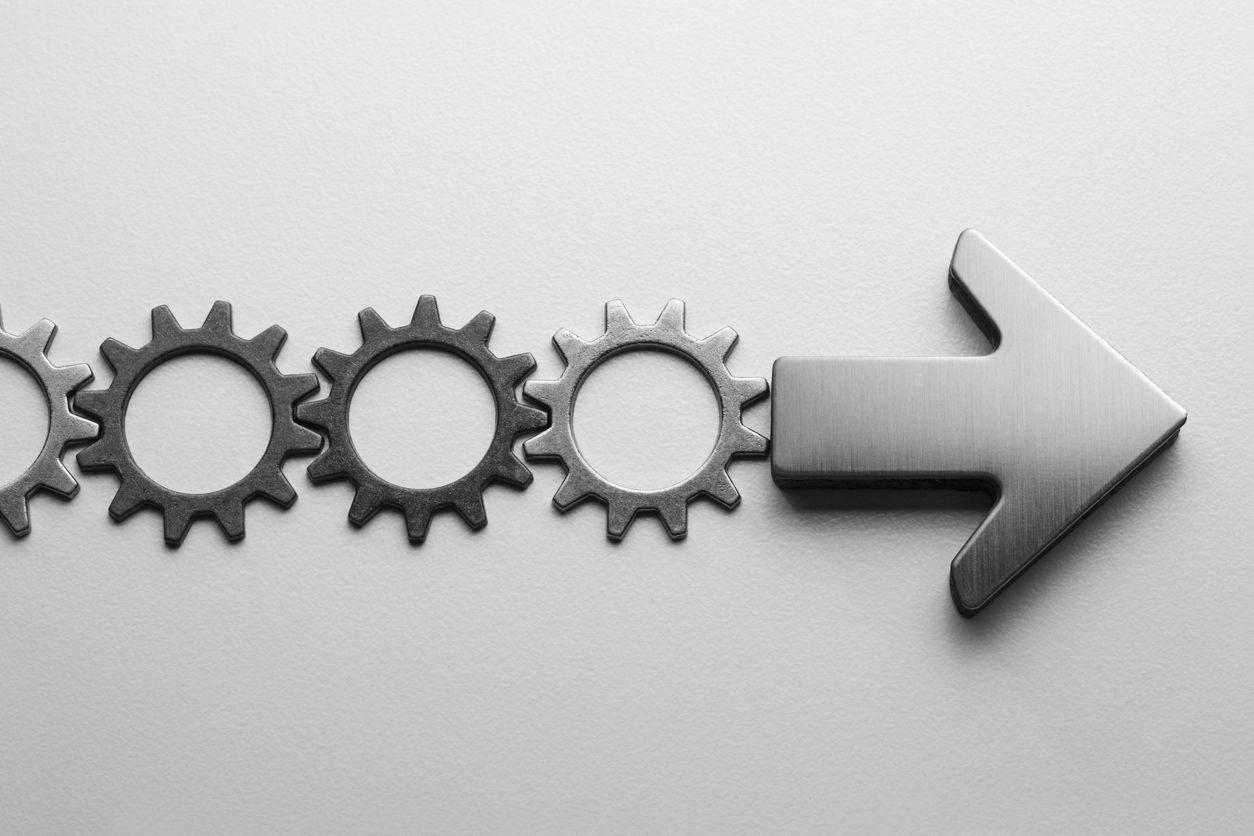 Interlocking cogs in succession planning