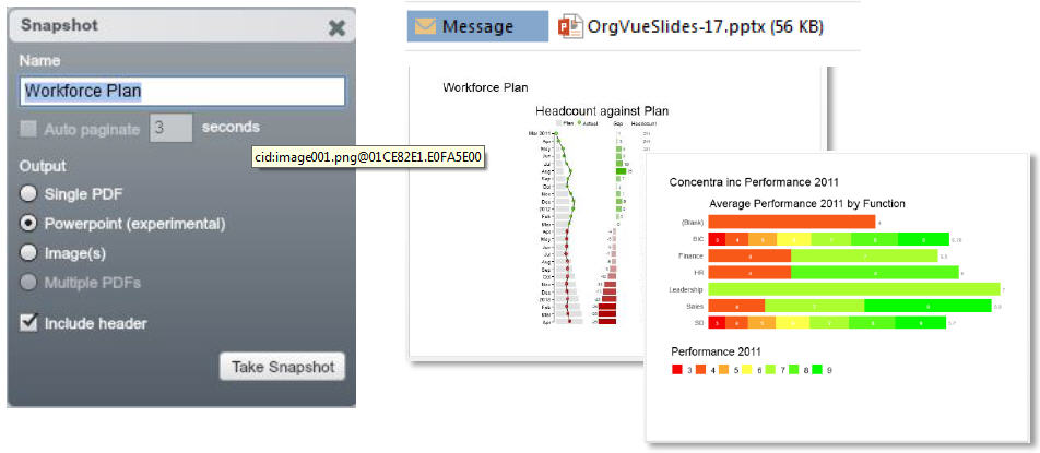 OrgVue - PowerPoint exports